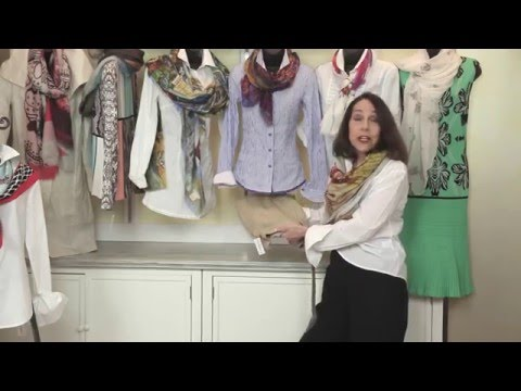 """""""The Best Scarf Video"""" - Fashion Tips and Trends About Scarves"""