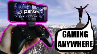 Pc / Android Gaming Anywhere With Parsec