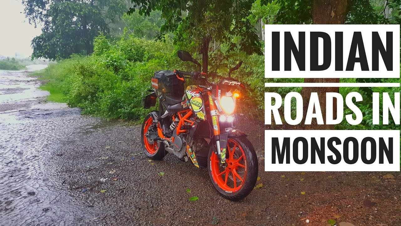 Indian roads in monsoon | Fog light for duke 390 | pilot street ...