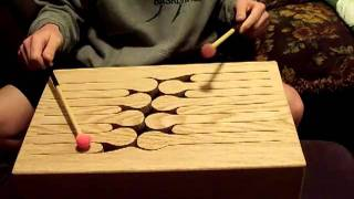 16 Key Oak Tongue Drum