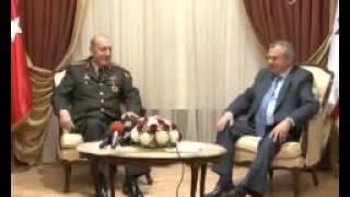 Orgeneral Kıvrıkoğlu, KKTC Başbakanı Küçük'ü ziyaret etti