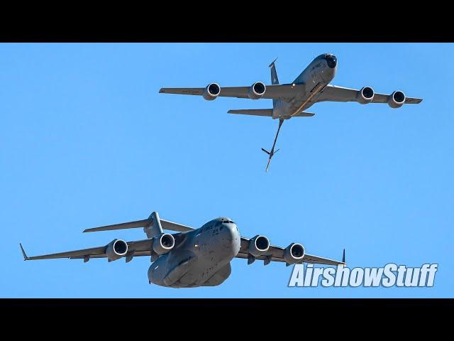 KC-135/C-17 Demo Practice - Nellis AFB 2019