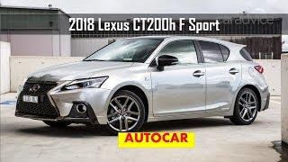 2018 Lexus CT200h F Sport review