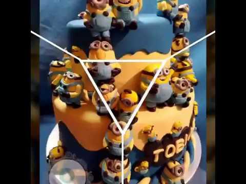Minion Torte Zum 30 Geburtstag Youtube