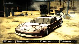 NFS Most Wanted how to make webster