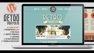 Retro Wordpress Theme Review & Demo | Vintage WordPress Theme | Retro Price & How to Install
