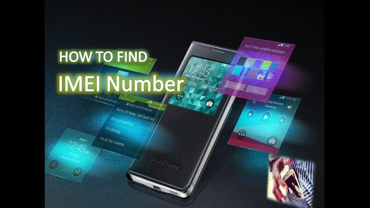 how to get your imei number andriod
