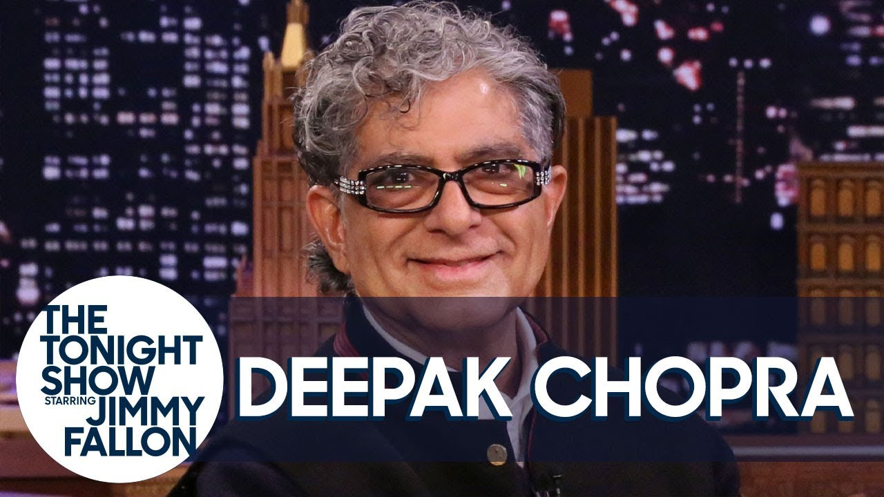 Deepak Chopra Uses AI Digital Deepak to Guide Jimmy Through Meditation