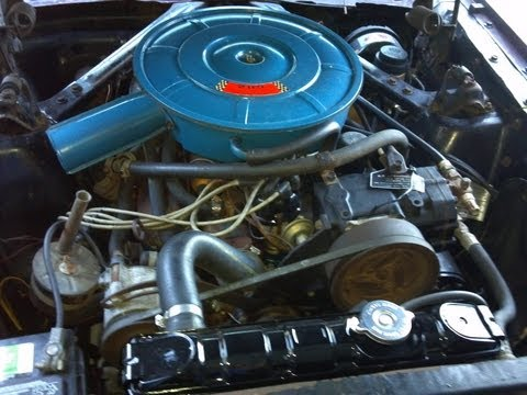 1966 mustang 289 a code coupe engine compartment 1965 mustang engine diagram number