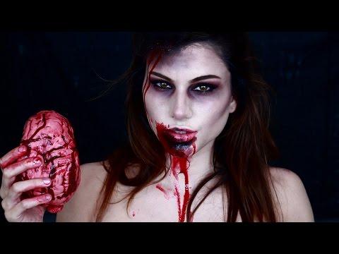 Zombie Girl Makeup Tutorial