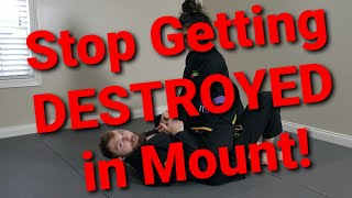 """Stop Getting DESTROYED in Mount!"" Toro BJJ Move of the Week"