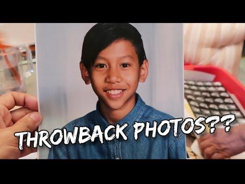 REVISITING MY PAST & FAMILY THRU PHOTOS - I HAD HAIR! | Vlog #141