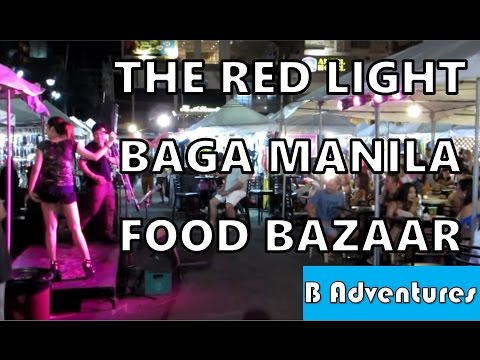 Makati Manila, Red Light Kitchen, BAGA Food Bazaar BBQ Market, Philippines S2 Ep43