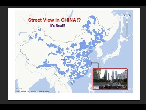 Street View in CHINA!? It's real!!