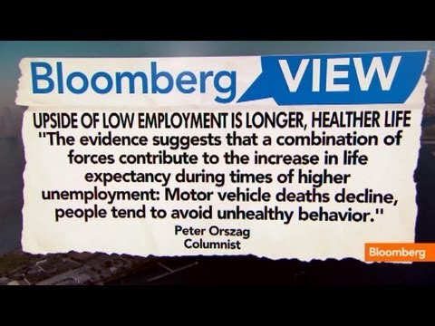 Unemployment Upside: A Healthier, Longer Life?
