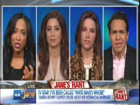 HLN Tanya Miller on Racist Remarks about Tia Mowery's Interracial Marriage 1/13/14