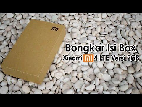 Unboxing Xiaomi Mi4 LTE Versi 2 GB Detekno