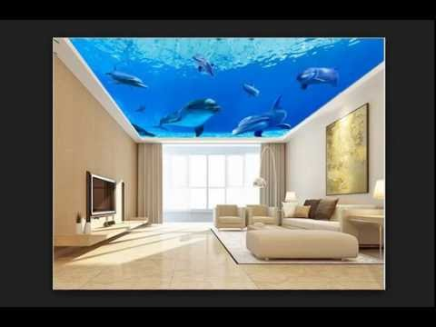 Latest POP Ceiling Designs and POP Design For Walls 2016 Video#1 ...