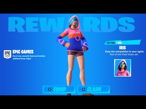 How To Get The IRIS Skin In Fortnite! (FREE Samsung Galaxy Exclusive Skin!)
