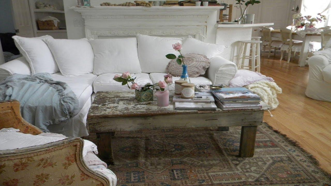 Shabby Chic Living Room Furniture U0026 Interior Designs Ideas