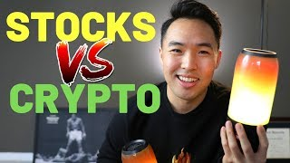 Stock Market VS Cryptocurrencies 2019 - Volatility, Risk, and Profits