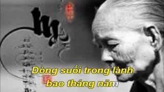 Karaoke HD__ Bong Hong Trang ( beat goc Truong Vu )
