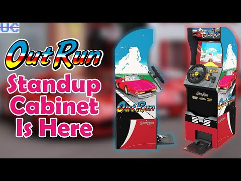 Arcade1up Out Run Standup Cabinet Revealed! ..And it's Pricey from Unqualified Critics