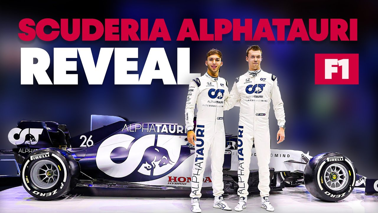 The Scuderia Alphatauri At01 Formula One Livery Revealed Youtube