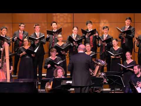 "USC Thornton Chamber Singers: ""Mid-winter"" by Bob Chilcott"