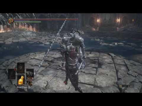 Dark Souls 3 Winged Knight Twin Axe Damage Testing 689 Ar