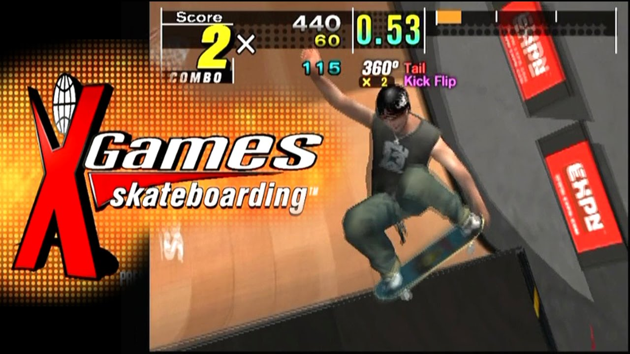 Espn X Games Skateboarding Ps2 Youtube