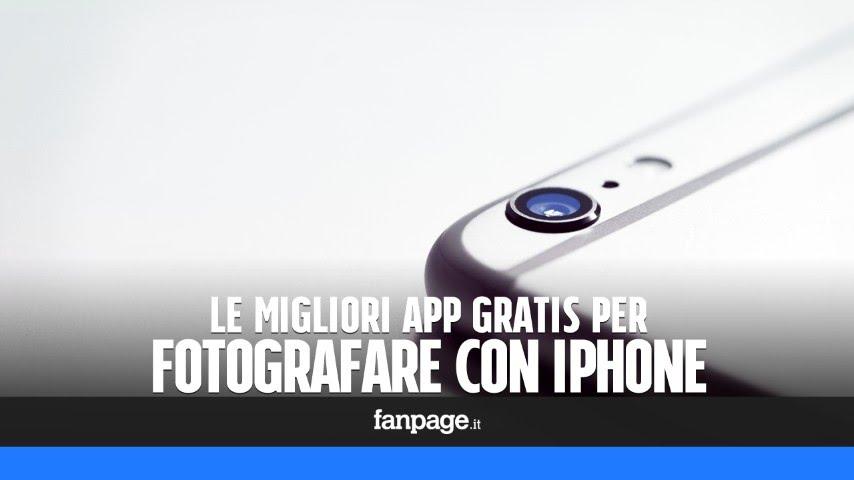 Le Migliori App Gratis Iphone Per Fotografare