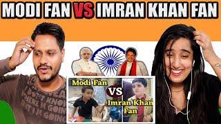Indian Reaction On PTI Imran Khan Fan VS BJP Modi Fan | Krishna Views