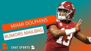 Miami Dolphins Rumors Mailbag: Josh Rosen Trade? Tua Tagovailoa Starting? Jamal Adams Trade?