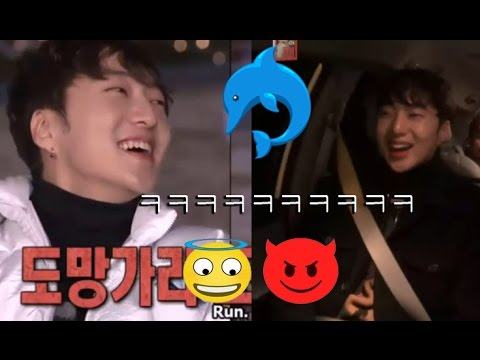 WINNER's Seung-yoon Laugh Compilation Flower Crew - 꽃놀이패