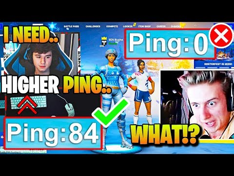 Everyone *CONFUSED* As Bugha WANTS *HIGHER PING* & PROVES Its BETTER! (Fortnite)