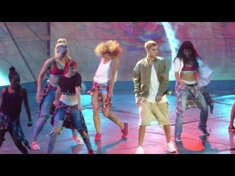 HD Justin Bieber - WHAT DO YOU MEAN [PARIS BERCY] Purpose Tour 2016