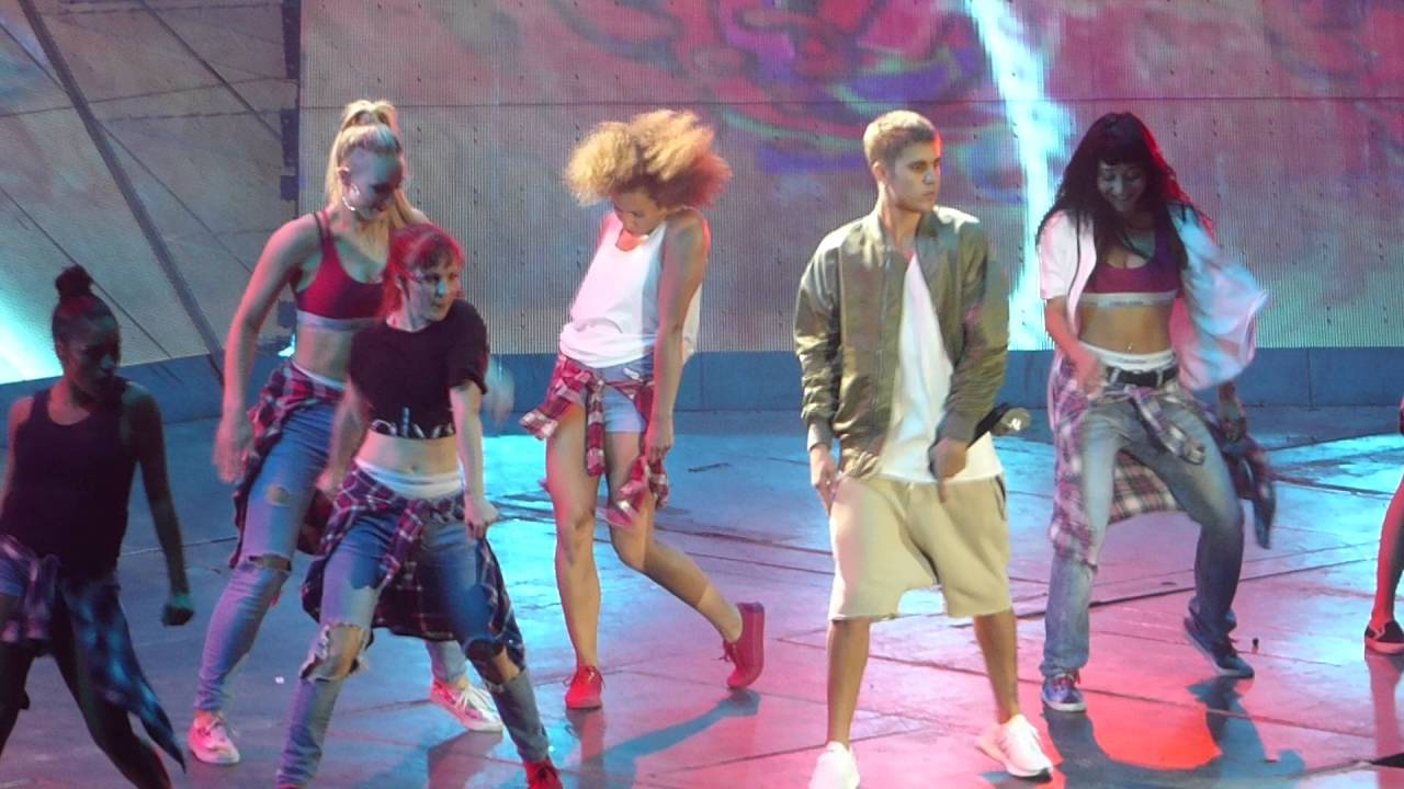 Hd Justin Bieber What Do You Mean Paris Bercy Purpose Tour 2016