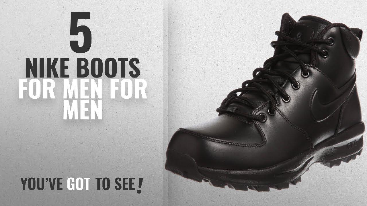 36d519ec6b227 Top 10 Nike Boots For Men   Winter 2018    Nike Men s Manoa Leather ...