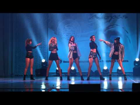 J.A.Q - Crazy (cover dance) K-pop World Festival 2015