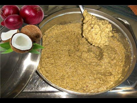 Kanda khobra che Vatan / Vatab | Onion - Coconut Masala paste |