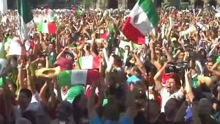 World Cup Celebrations Cause an 'Earthquake' in Mexico