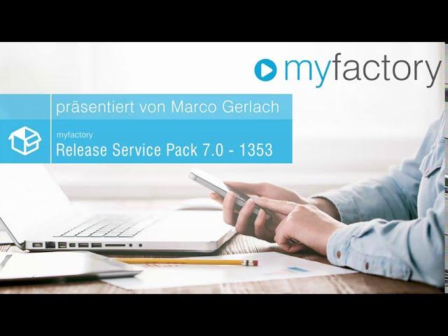 myfactory 7.0 ServicePack 1353