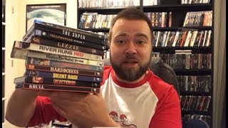 Blu-Ray & Dvd Collection Update 11 Pickups! Horror, Retro VHS Slipcovers, Comedy, Drama