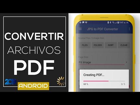 4 Formas: Convertir A PDF En Android (Word, Imágenes Y Editor) | 2019