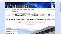 Anmelden für moodle   HSG Kaiserslautern