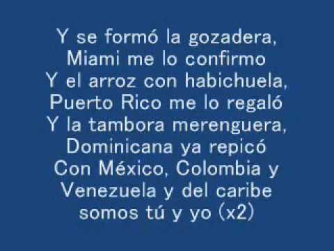 La Gozadera   Gente de Zona ft  Marc Anthony LYRICS LETRA 360p
