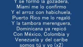 La Gozadera   Gente de Zona ft  Marc Anthony LYRICS LETRA 3...