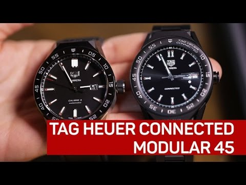 cccf65c7ea0 Tag Heuer Connected Modular 45 - YouTube