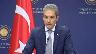 Dışişleri Sözcüsü Aksoy: